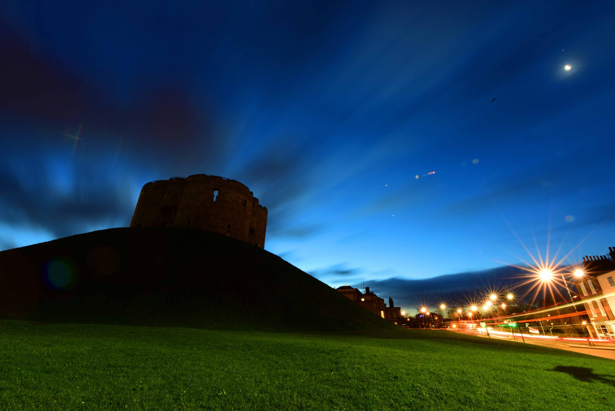 Clifford's Tower dusk