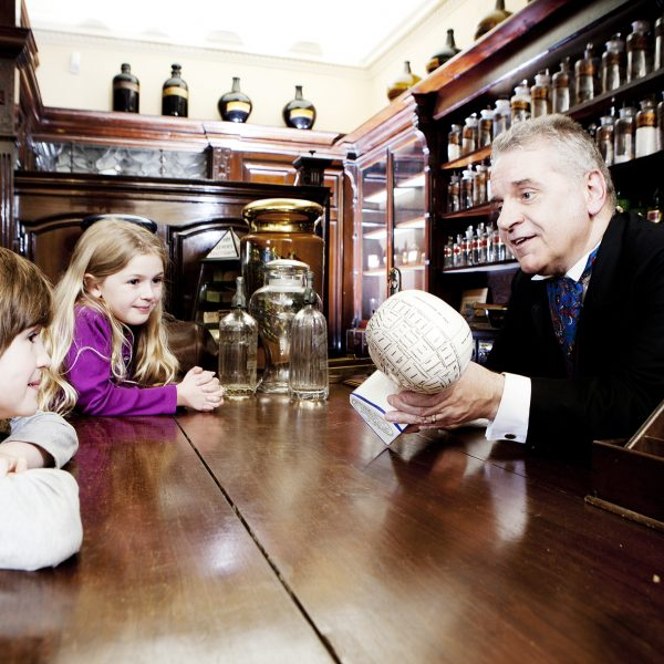 York Castle Museum Kirkgate chemist