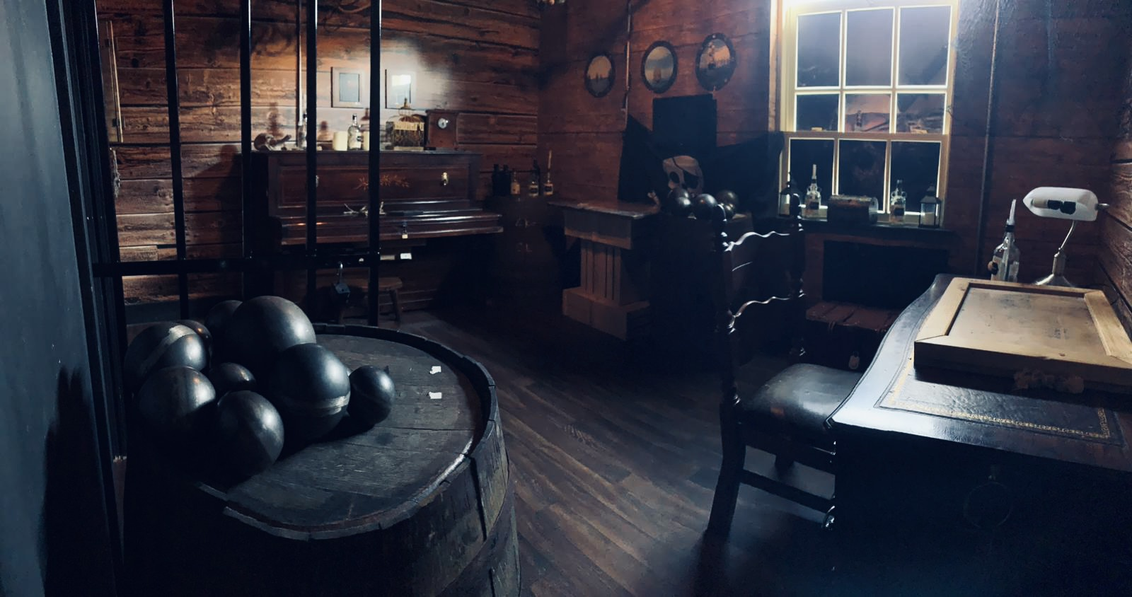 Image showing inside one of the escape rooms at The Escapologist