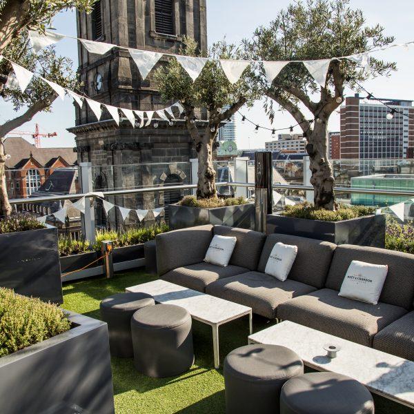 Angelica rooftop terrace