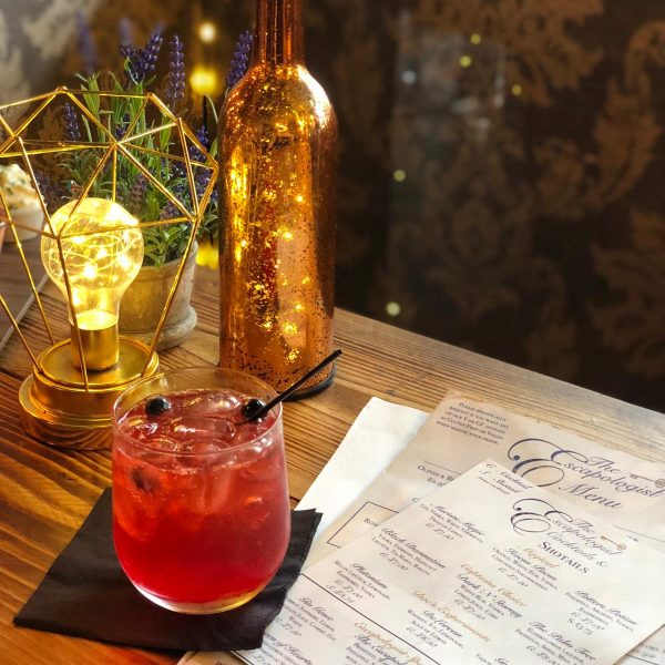 Image of cocktails served at The Escapologist