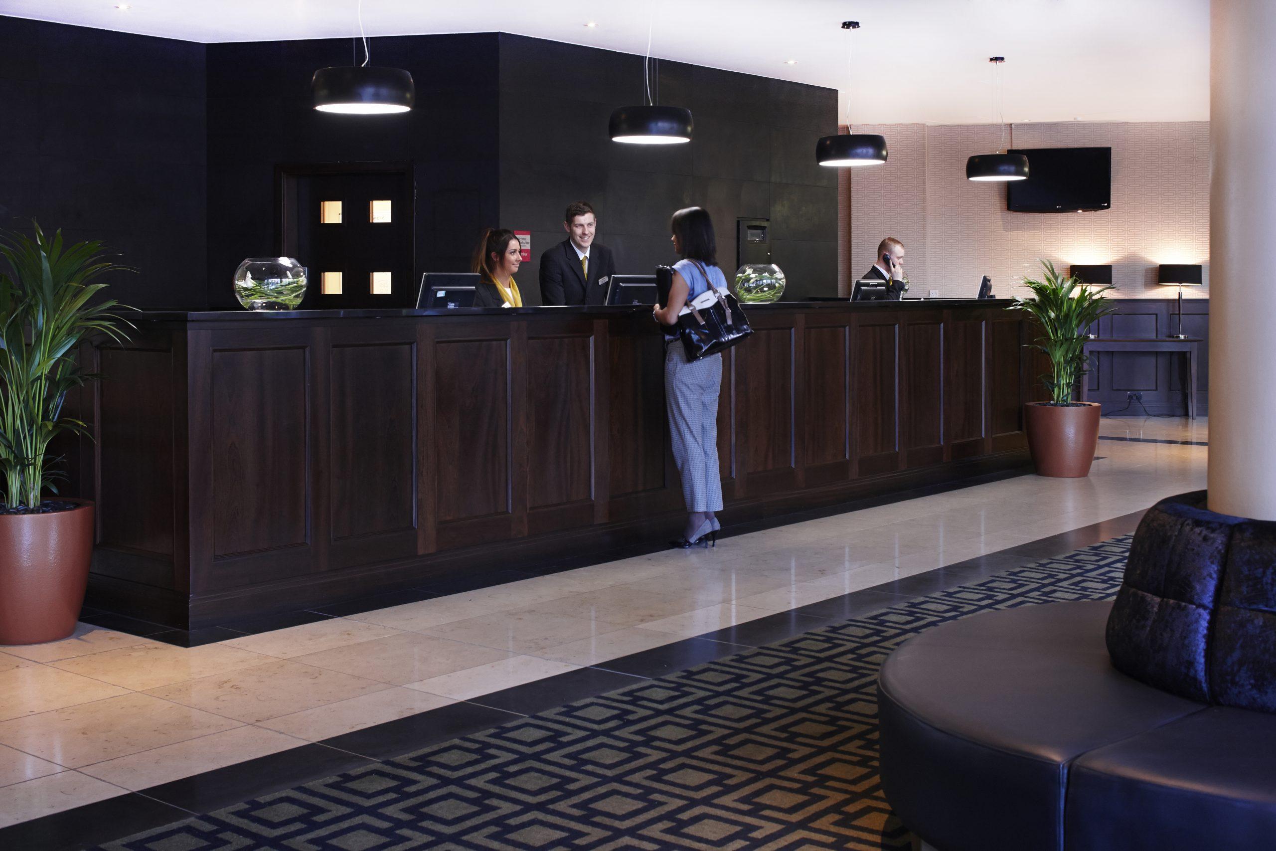 Clayton Hotel Leeds reception