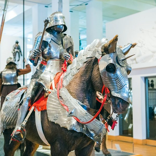 Royal Armouries exhibit - Credit Mikee Wilczek