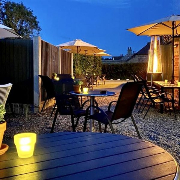 Outdoor Area at The Drover's Arms