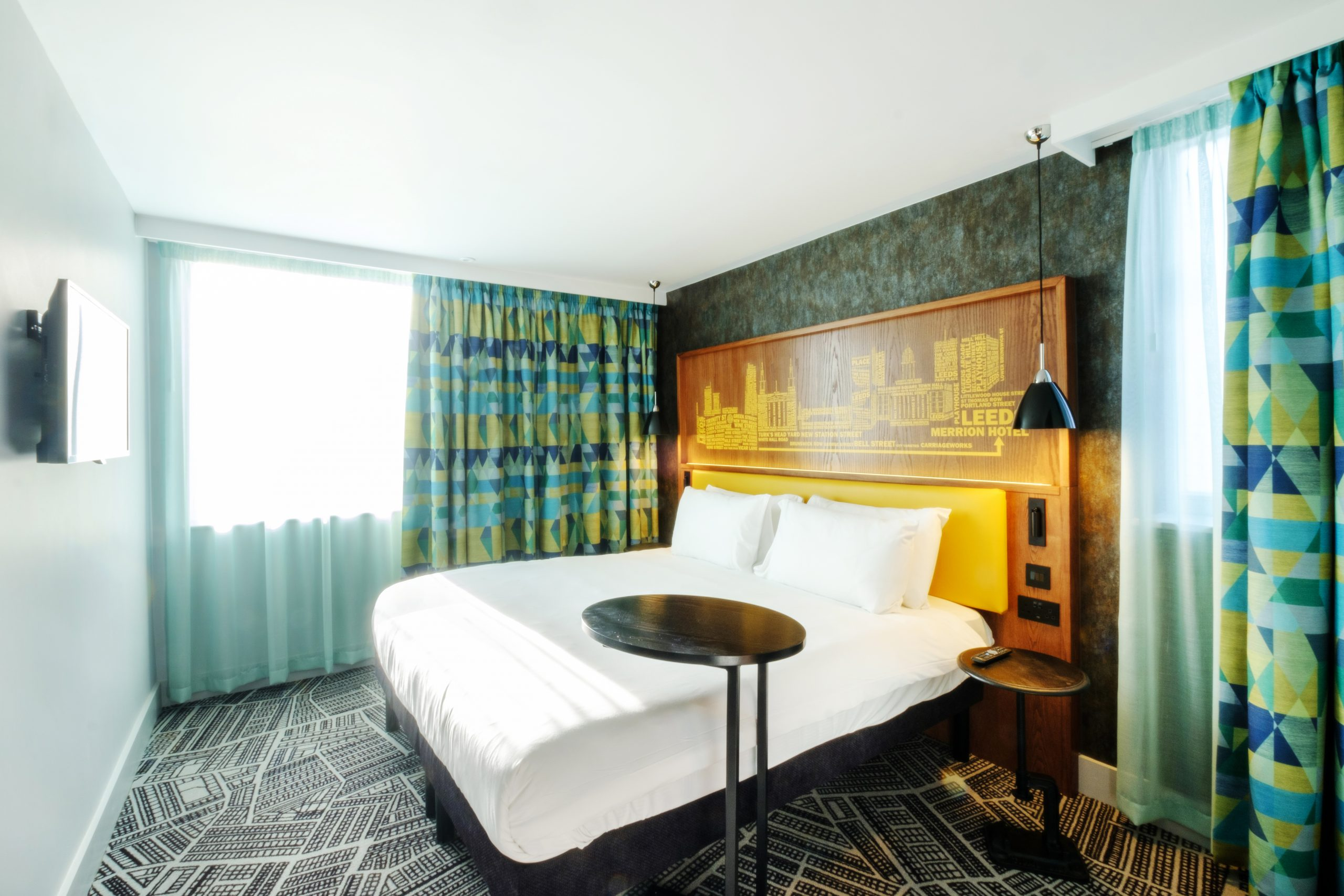 Ibis Styles bedroom - credit Evoke Pictures