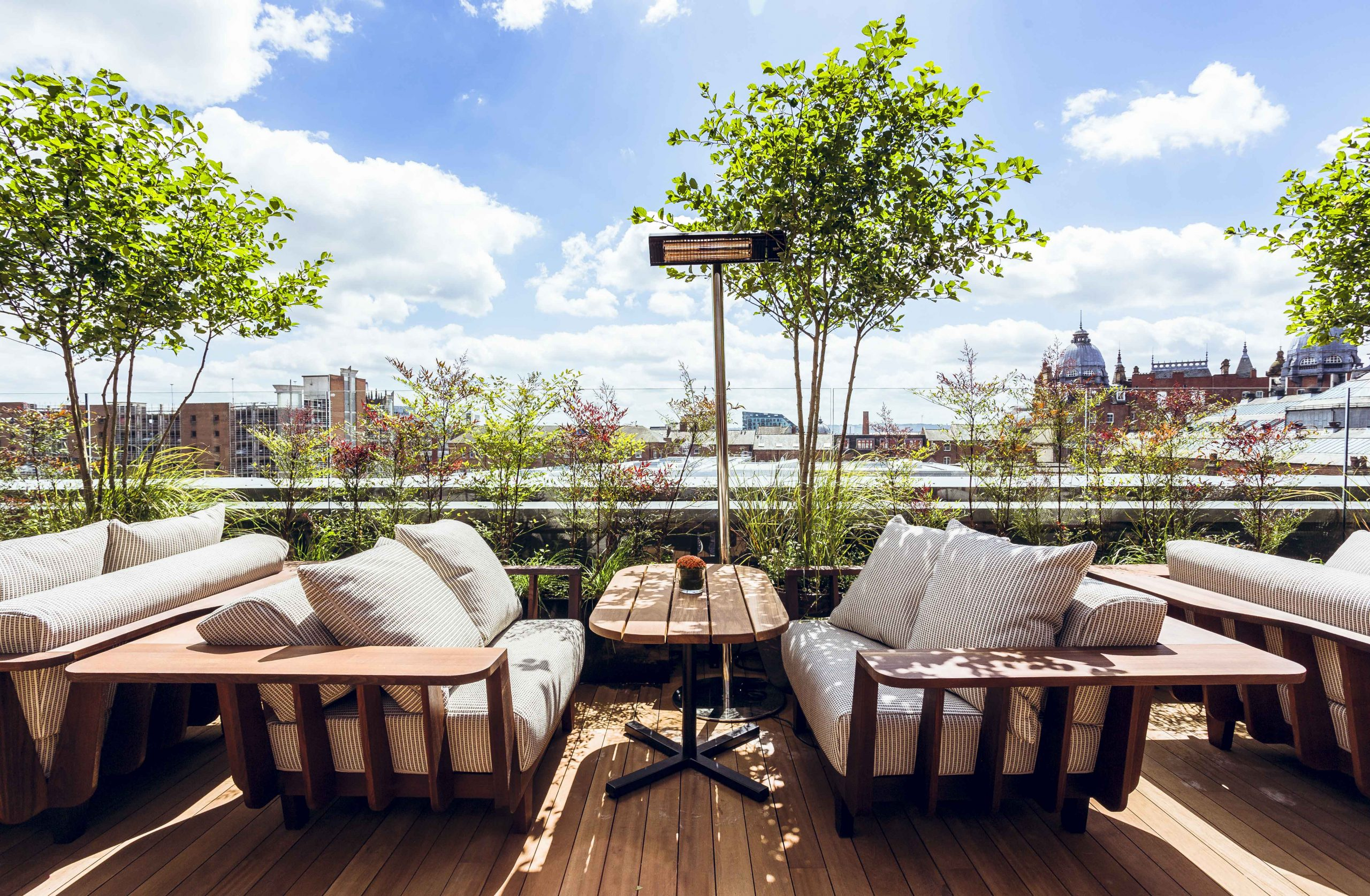 Issho rooftop terrace - credit Will Stanley