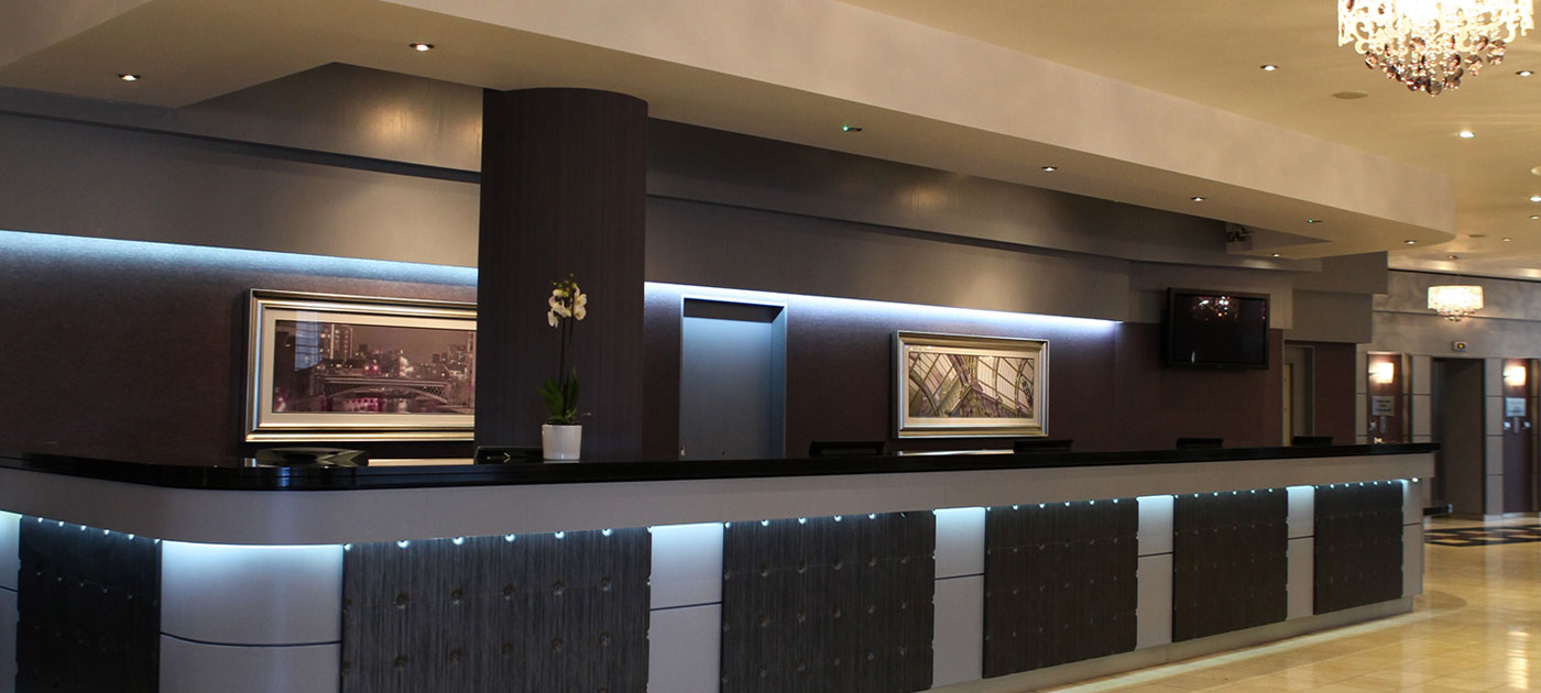 Jurys Inn lobby - credit Jurys Inn