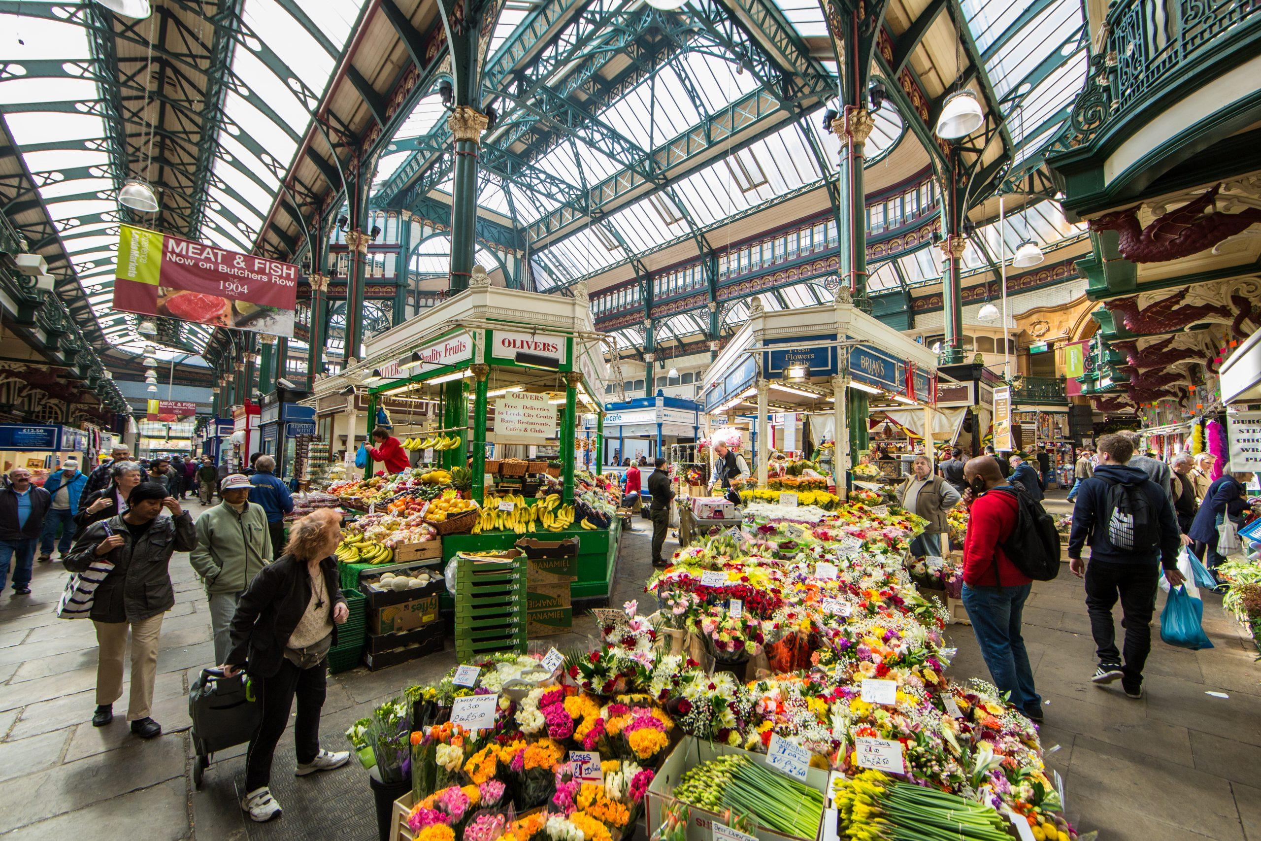 Kirkgate Market, Leeds - credit Leeds City Council