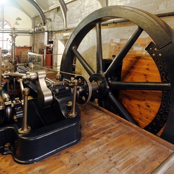 Mill Engine in Steam - Leeds Museums and Galleries
