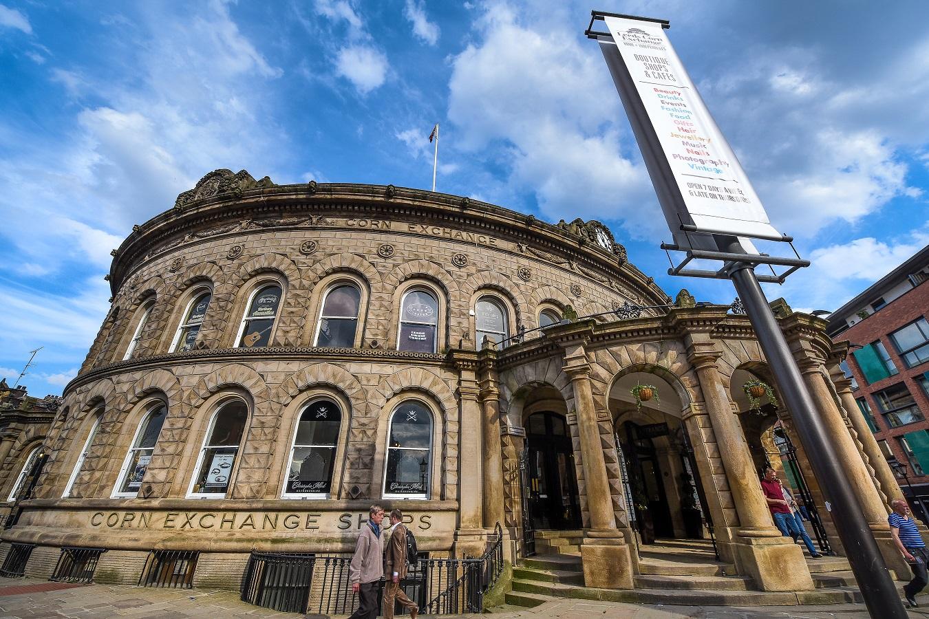 Leeds Corn Exchange Exterior (c) Simon Dewhurst
