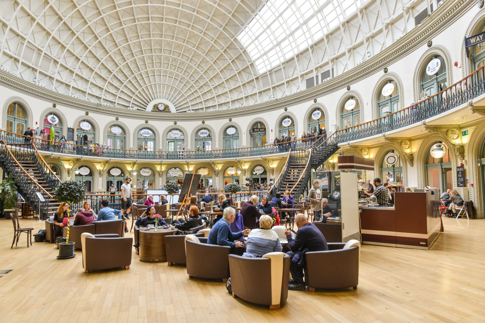 Leeds Corn Exchange (c) Simon Dewhurst