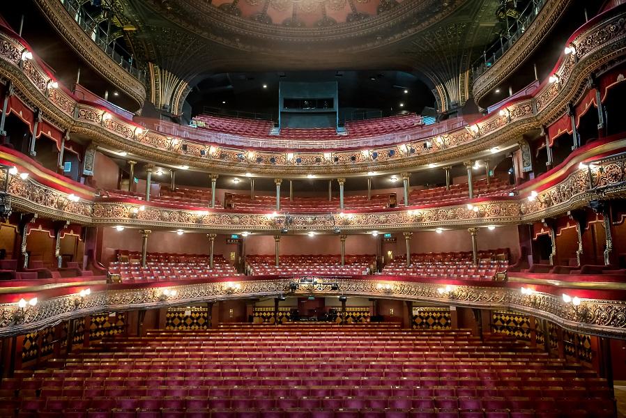 Leeds Grand Theatre auditorium - credit Ant Robling