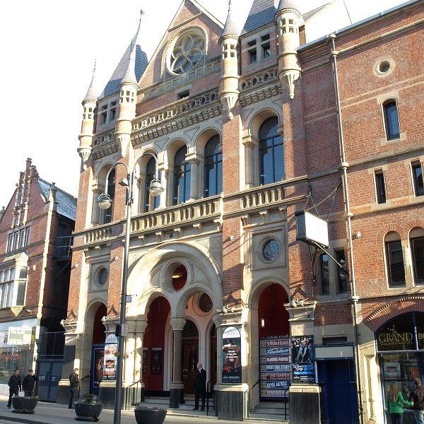 Leeds Grand Theatre exterior - Visit Leeds