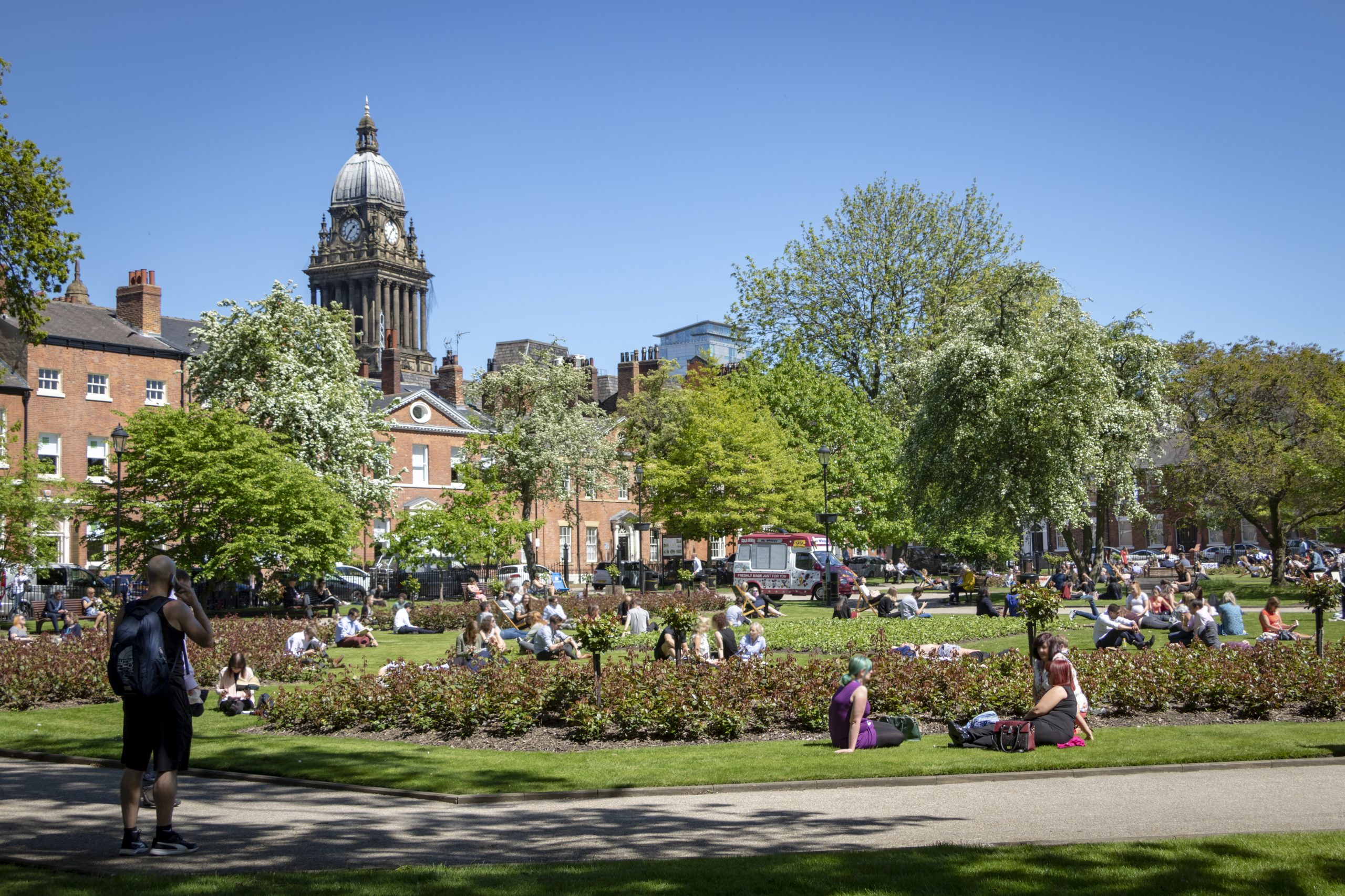 Park Square - credit Carl Milner for Leeds City Council