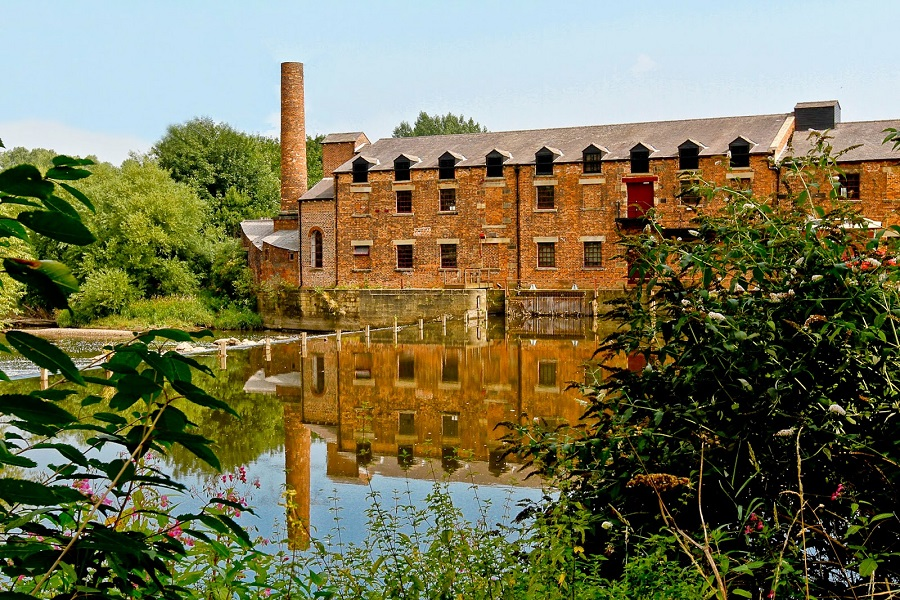 Thwaite Mills exterior - Leeds