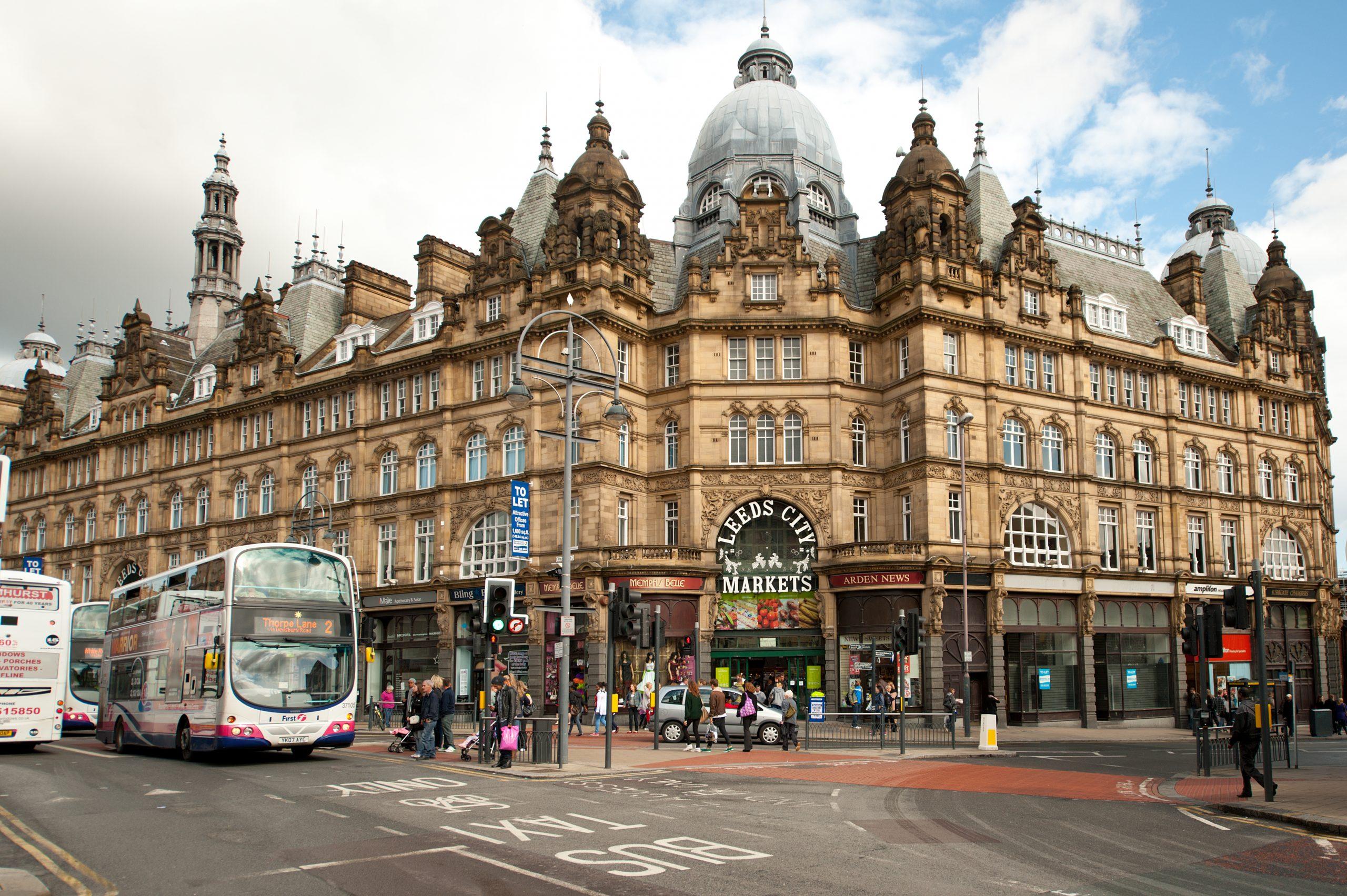 Kirkgate Market exterior - Visit Leeds
