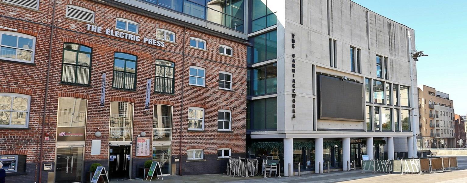 Carriageworks exterior - Millenium Square Leeds